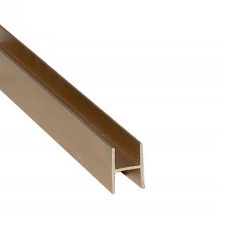Соединительный профиль, L=5500 мм, золото, DC Standard
