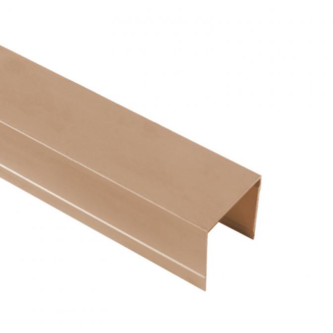 Верхняя направляющая одинарная, L=5500 мм, золото, DC Standard