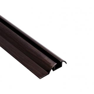 Нижняя направляющая одинарная, L=5500 мм, венге, DC Standard
