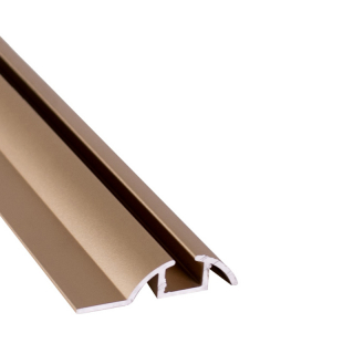 Нижняя направляющая одинарная, L=5500 мм, золото, DC Standard