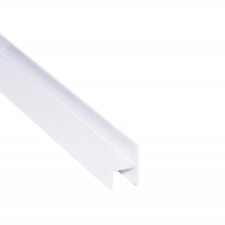 Соединительный профиль, L=5500 мм, белый глянец, DC Standard