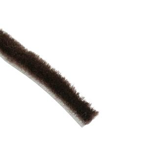 Щетка буферная короткий ворс 6,7х5, венге, с клеем