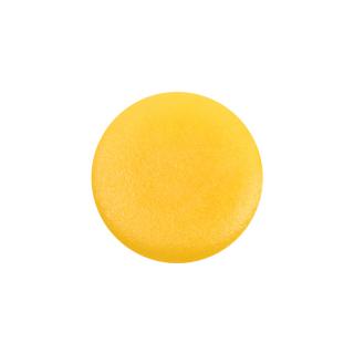 Заглушка до конфірмата, пластикова, жовта