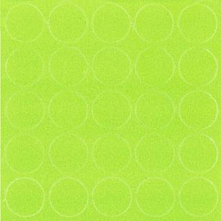 Заглушка самоклеящаяся, 14 мм, 068 зеленый лайм, Folmag