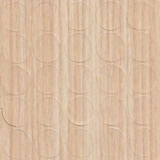 Заглушка самоклеящаяся, 14 мм, 825 зебрано песочный, Folmag