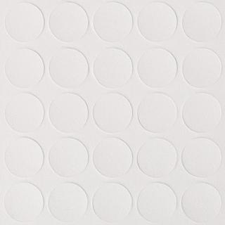 Заглушка самоклеящаяся, 14 мм, 322 белый шагрень, Folmag