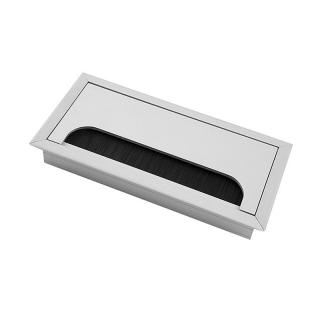 Заглушка для кабеля Merida, алюминий, GTV