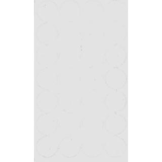 Заглушка самоклеящаяся, 20 мм, 321 белый альпийский, Folmag