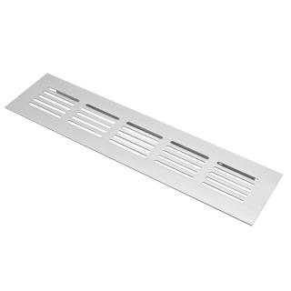 Решетка вентиляционная, алюминий, 200х50