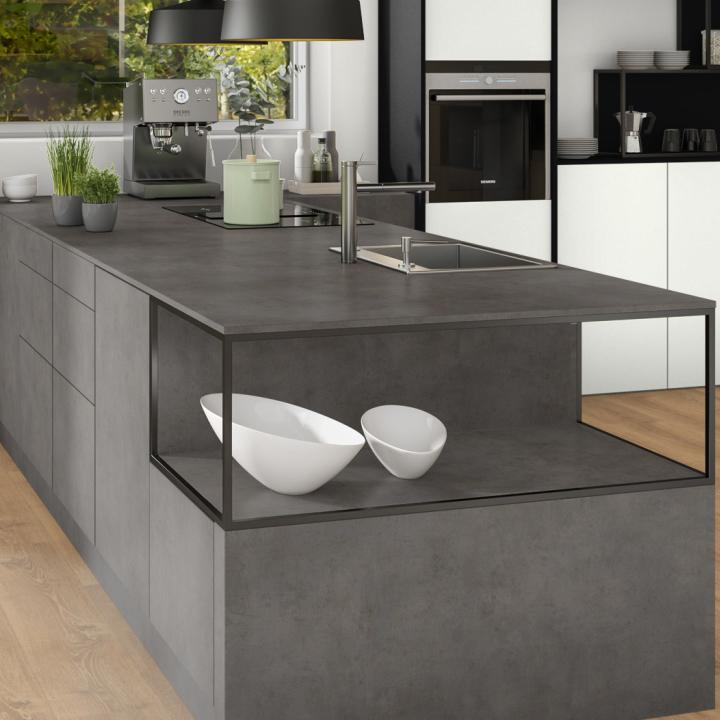Столешница бетон чикаго темно серый купить куплю шлифмашинку для бетона